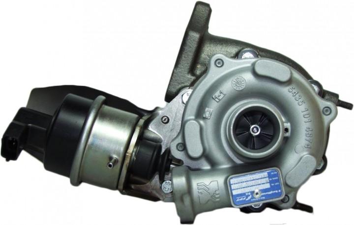 Lader Aufladung TURBO SERVICE SET BTS Turbo T981359 +386.75€ Pfand für OPEL S07