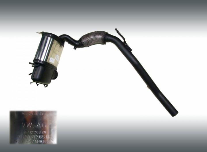 Rußpartikelfilter DPF SKODA OCTAVIA II Combi (1Z5) 2.0 TDI