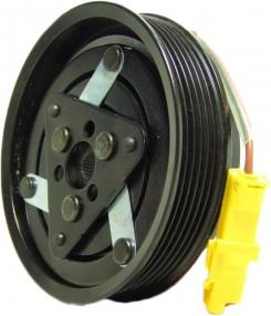 Klimakompressor Magnetkupplung Nissan Note Renault Clio III